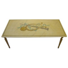 Emilio Martelli Trompe L'Oeil Marble Coffee Table
