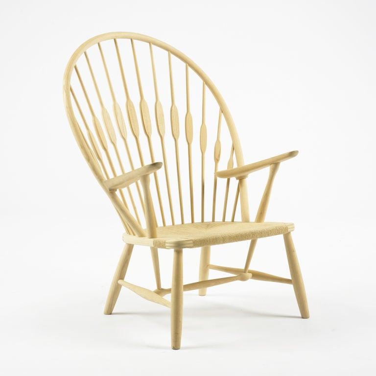 Danish Peacock lounge chair by Hans Wegner