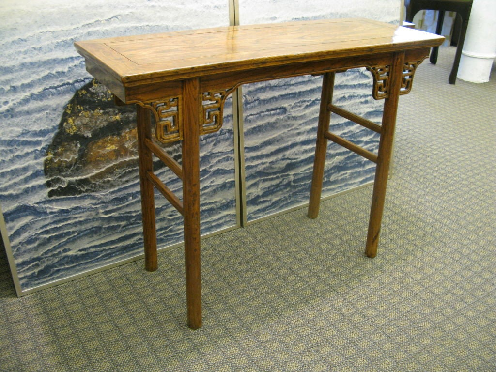 Small Chinese 19th Century Side Table For Sale 2