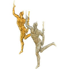 Weathervane  In The Form Of The God Mercury