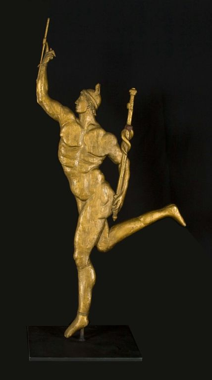 Weathervane In The Form Of The God Mercury At 1stdibs