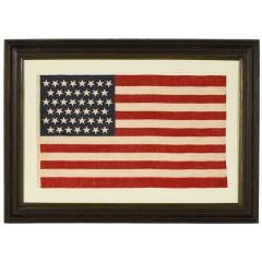 45 STAR AMERICAN FLAG, TUMBLING STARS, UTAH STATEHOOD