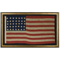 35 STARS, CIVIL WAR PERIOD, WEST VIRGINIA STATEHOOD, 1863-1865,