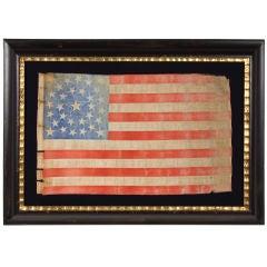 31 STARS, PRE-CIVIL WAR (1850-1858), CALIFORNIA STATEHOOD: