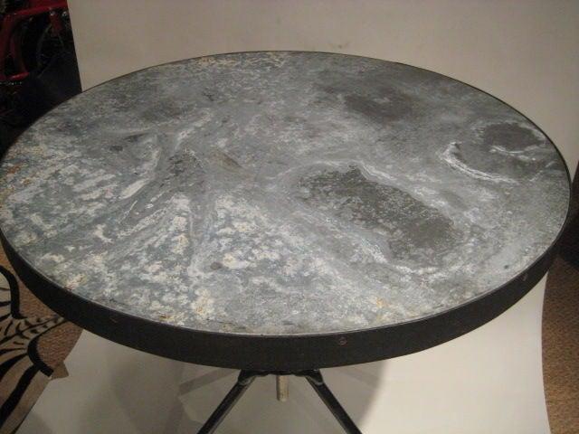 Zinc Tripod Table image 2