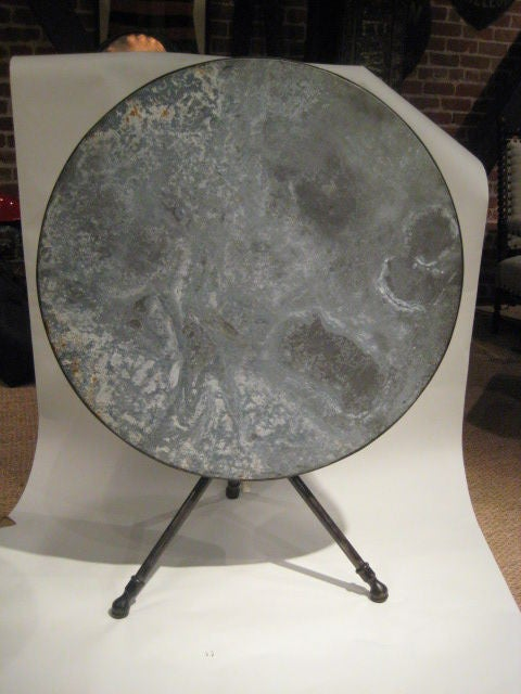 Zinc Tripod Table image 3