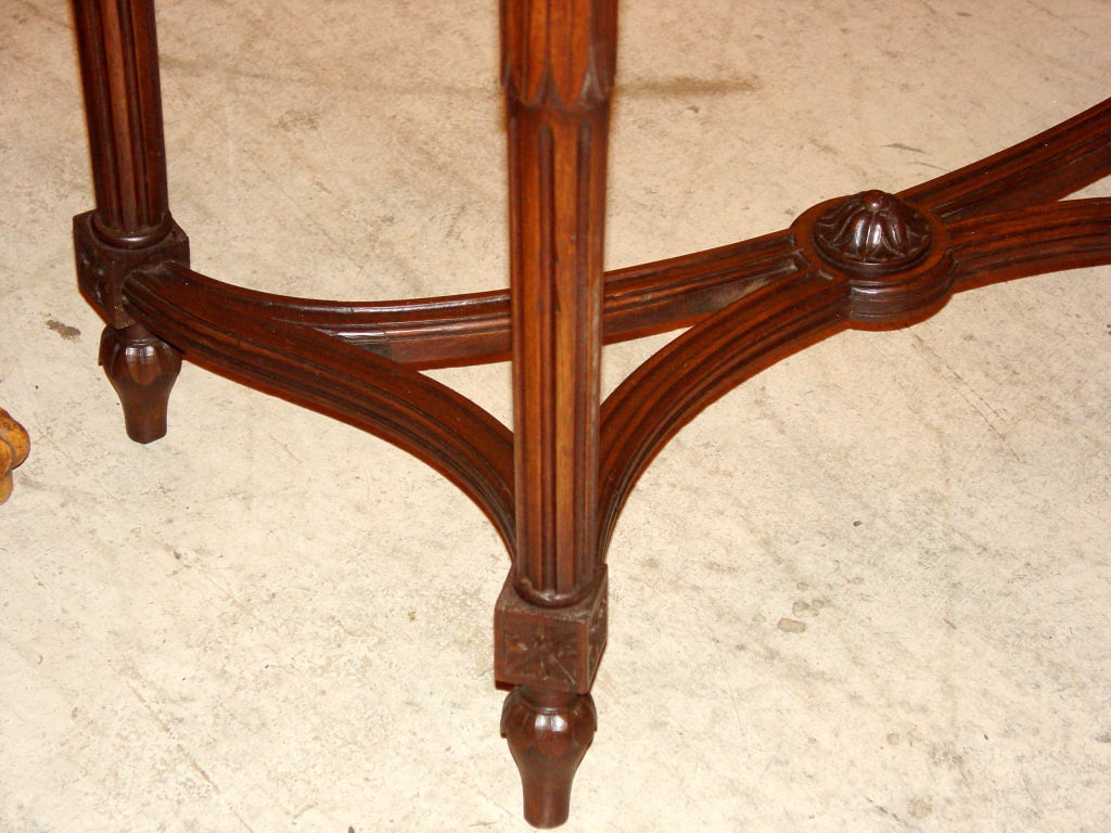 Louis Xvi Style Console In Beech Wood For Sale At 1stdibs