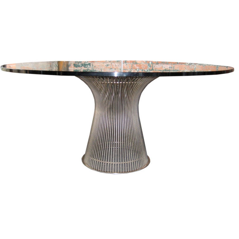 Dining table designed by Warren Platner at 1stdibs : XXXimg5853 from www.1stdibs.com size 768 x 768 jpeg 33kB