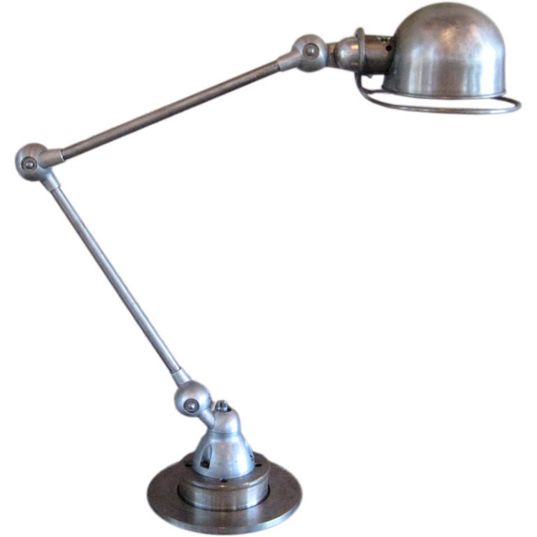 Articulating Desk Lamp By Jean Louis Domecq At 1stdibs