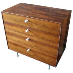 Rosewood Thin Edge cabinet by George Nelson