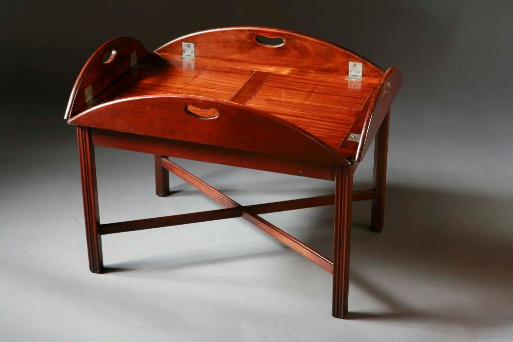 An english mahogany butler 39 s tray table at 1stdibs Butler coffee tables