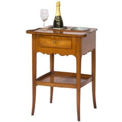 French Provincial Fruitwood Rafraichissoir