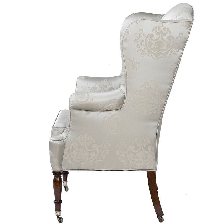Federal New York Mahogany Wing Chair 2