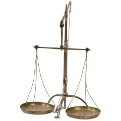 English 19th century balance scale