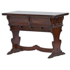 Small Italian Renaissance Style Library Table