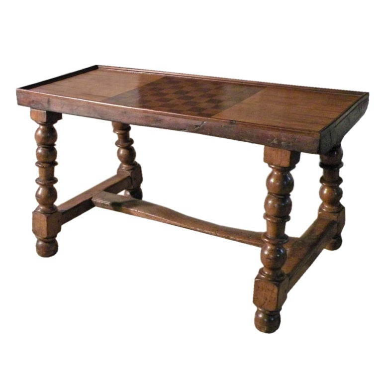 French Baroque Coffee Games Table At 1stdibs