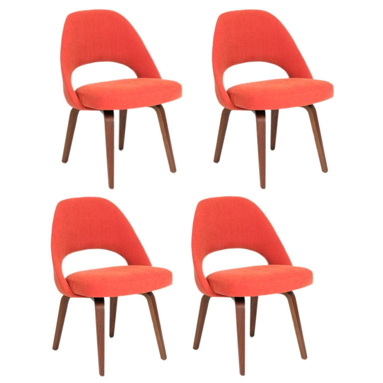 Early saarinen for knoll dining chairs at stdibs