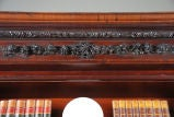 Carved Mahogany Bookcase with Twist-Reeded Columns image 6
