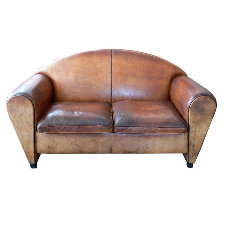 Dutch Leather Sofa By Bart Van Bekhoven At 1stdibs