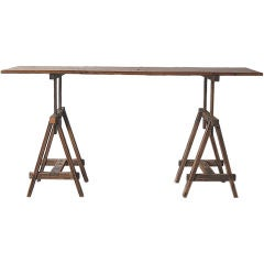 Adjustable Architect's Table or Console