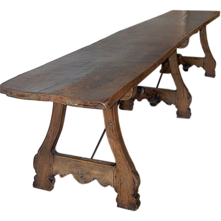 18th century 12 foot dining table at 1stdibs for 12 foot table