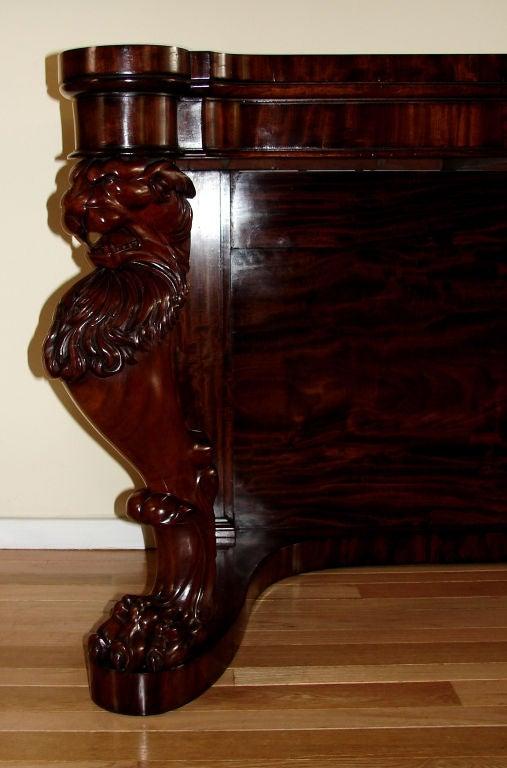 regency period mahogany hall table at 1stdibs