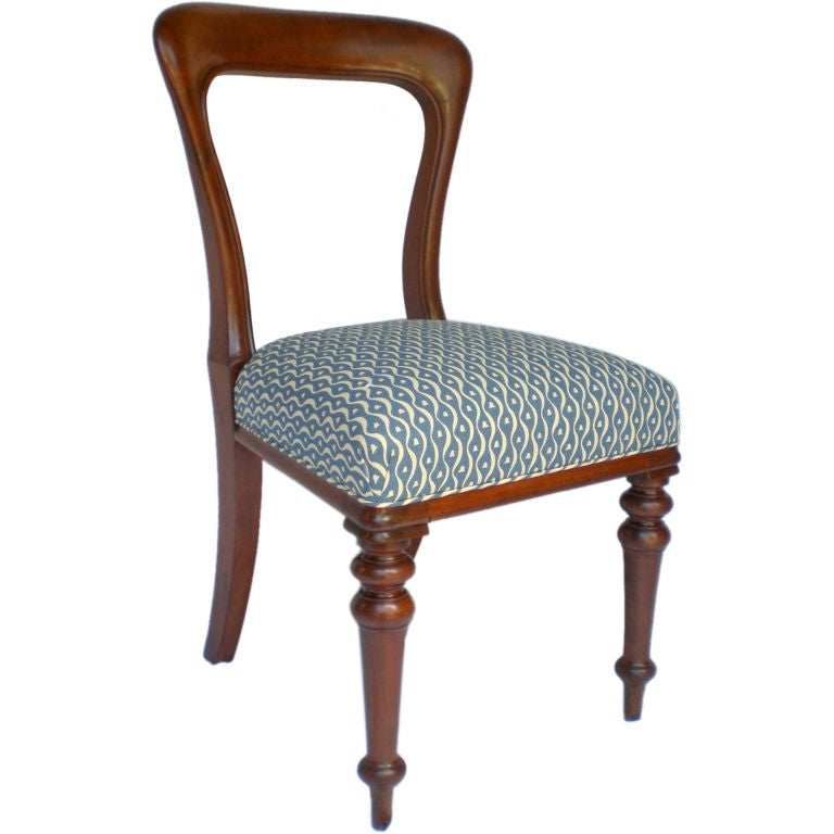Antique Mahogany English Cottage Side Chair At 1stdibs