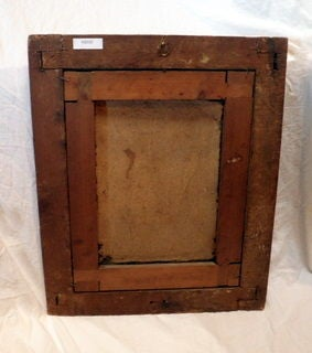 18th Century Oil Painting in Original Frame 4