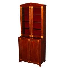 Period Swedish Empire Bookcase Cabinet Cabinetmaker's Sample