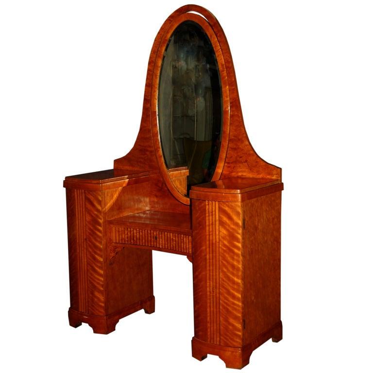 Swedish Art Deco Dressing Table Dresser Vanity At 1stdibs