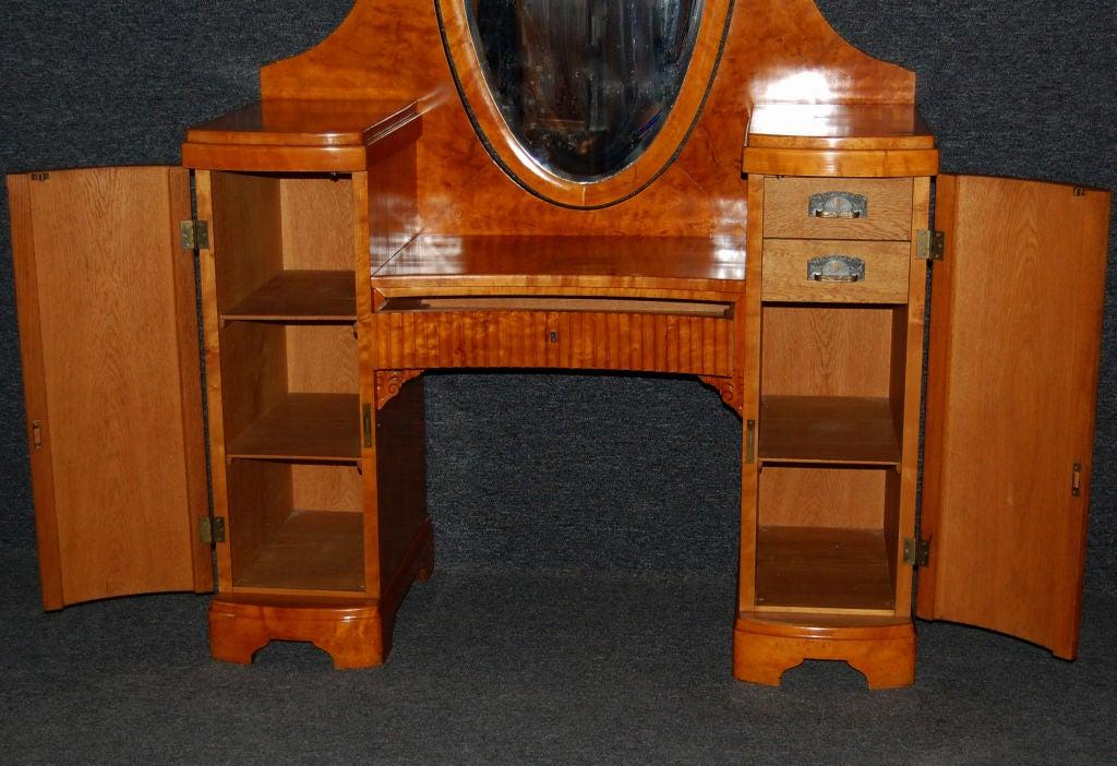 swedish art deco dressing table dresser vanity at 1stdibs. Black Bedroom Furniture Sets. Home Design Ideas