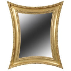 Concave sided mirror