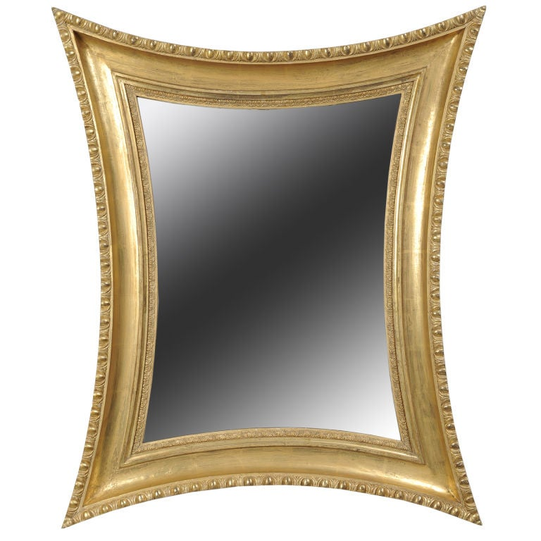 Concave sided mirror at 1stdibs for Concave mirror