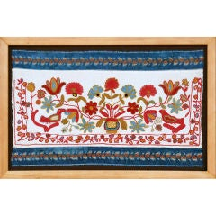 Embroidered Picture, Tver Region, Russia, late 19th Century