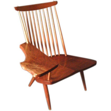 "George Nakashima Chairs george nakashima ""new"" lounge chair for sale at 1stdibs"
