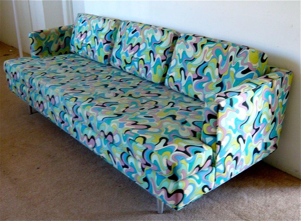 60 39 S Sofa Pucci Style At 1stdibs