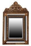 French Antique Napoleon III Period Mirror