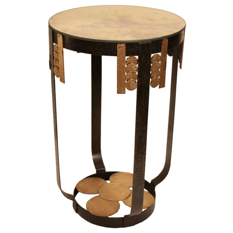French art deco period side table at 1stdibs for Art deco era dates