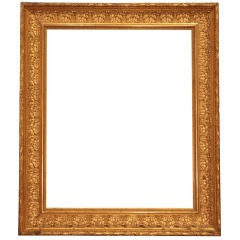 French Antique Napoleon III Period Frame