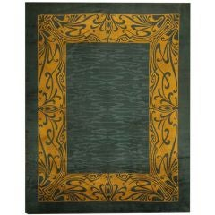 Art Nouveau Irish Donegal Rug