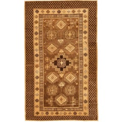 Decorative Oriental Antique Khotan Rug