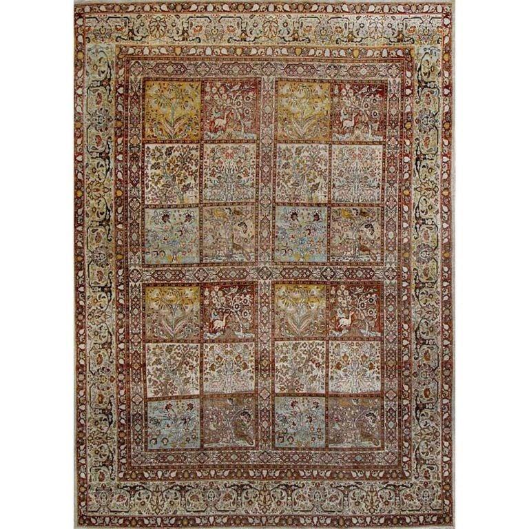 Antique Tabriz Carpet At 1stdibs