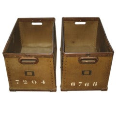 Vintage Postal / Cotton Boxes