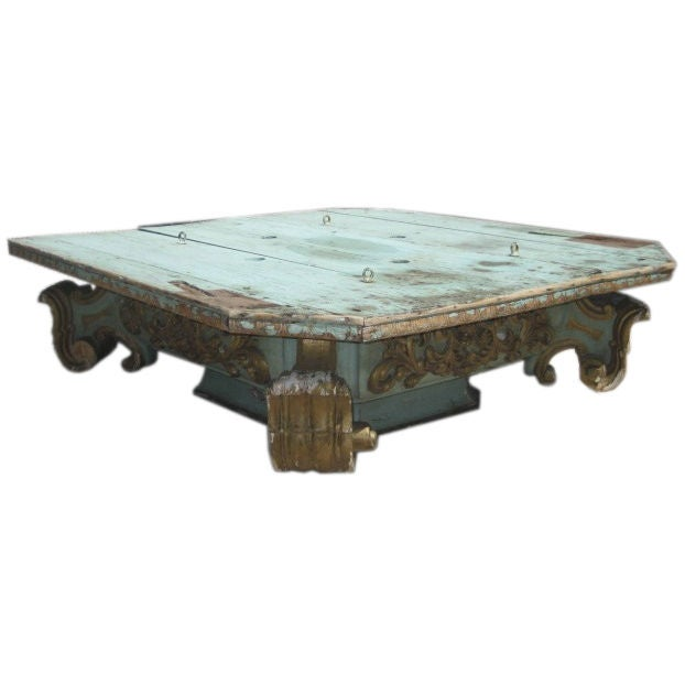 Vintage Baroque Style Coffee Table At 1stdibs