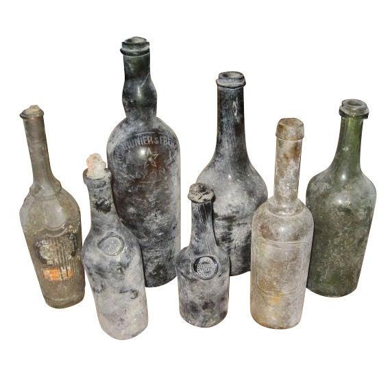 Vintage 18th Century Wine Bottles At 1stdibs