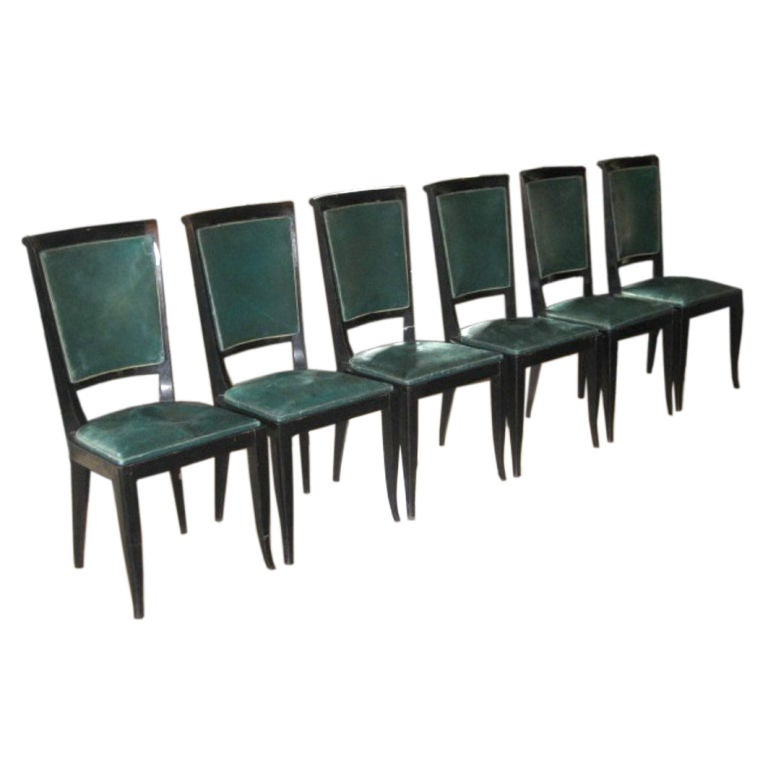 Vintage Art Deco Dining Chairs At 1stdibs