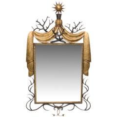Poillerat Style Deco Style Mirror