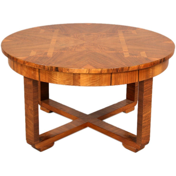 Beautiful Art Deco Coffee Table At 1stdibs