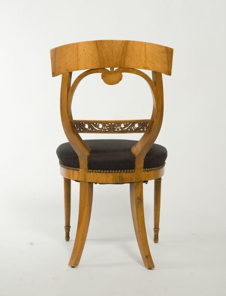 Suite of Biedermeier Chairs In Excellent Condition For Sale In New York, NY