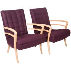 Pair of 1950's Italian Armchairs